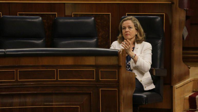 Calviño revela tras su derrota en el Eurogrupo que uno de los apoyos que tenían comprometidos cambió su voto
