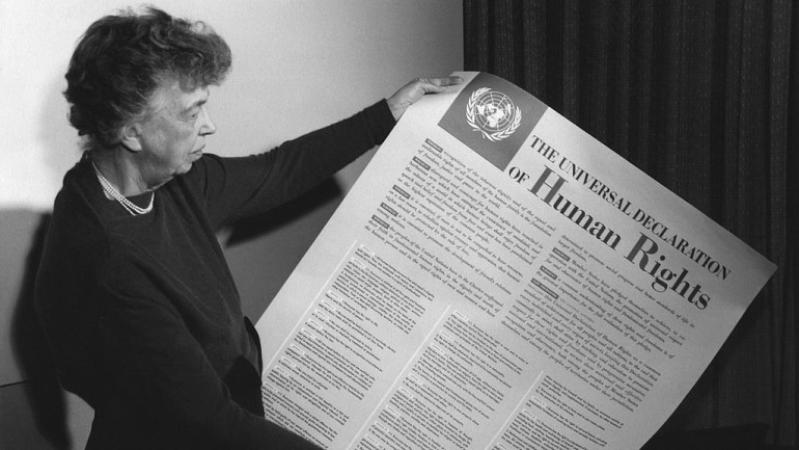Acontece que no es poco | La ONU aprueba la declaración de los derechos humanos