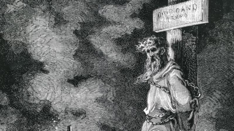 Acontece que no es poco | Ejecución Giordano Bruno