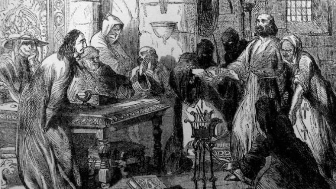 Acontece que no es poco | Ejecución de Jacques de Molay