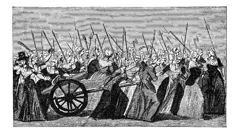 Acontece que no es poco | Las mujeres asaltan Versalles