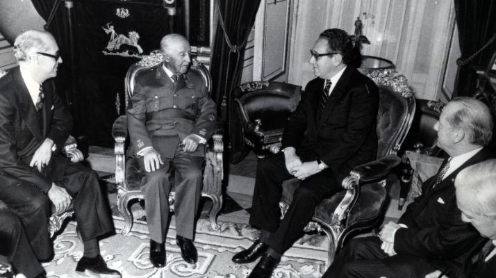 Acontece que no es poco | La visita oficial de Kissinger