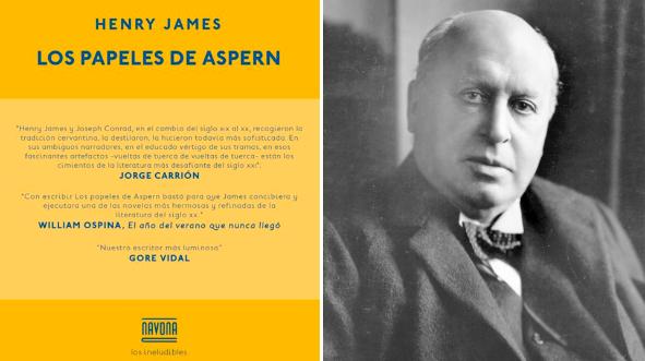 Un libro una hora: Los papeles de Aspern - Henry James (10/01/2021)
