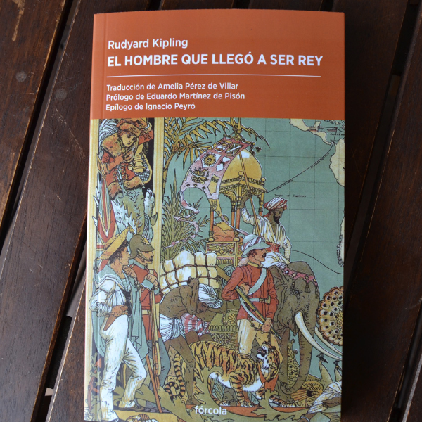 Un libro una hora: El hombre que llegó a ser rey - Rudyard Kipling (24/01/2021)
